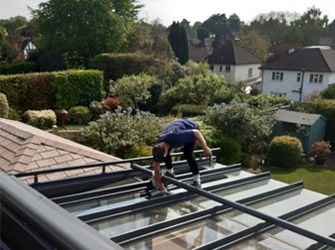 Glass roof cleaning Surrey