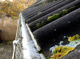 Gutter cleaning in Surrey